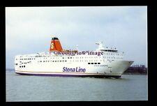 SIM0227 - Stena Line Ferry - Stena Europe , built 1981 ex Stena Saga - postcard