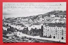 AK ST. GALLEN Schweiz 1909 Stadtansicht mit Bahnhof       ( 26515