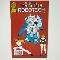The Official How to Draw Robotech Comic Book #10 Blackthorne 1987 COMICO COMICS