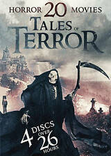 20 Horror Movie Collection: Tales of Terror (DVD, 2016, 4 Discs) | NEW