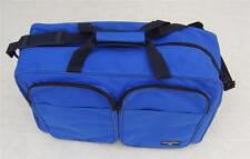 Polo Ralph Lauren Tote RL Duffle Gym Nylon Travel Bag Canvas Royal Blue Luggage