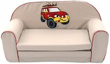 Knorr-baby Divano-letto Bambini Rosso (rot)