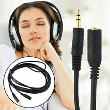 New 12 FT 3.5mm Male to Female Stereo Audio MP3 Headphone Extension Cable AX