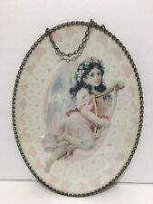 Victorian Flue Cover Vintage Replica Gallery Graphics Shabby Cottage Angel Decor