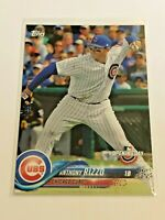 2018 Topps Opening Day Baseball Base Card #6 - Anthony Rizzo - Chicago Cubs