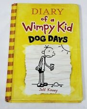 Diary of a Wimpy Kid 4 Dog Days Hardcover Book Jeff Kinney