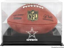 Dallas Cowboys Black Base Football Display Case - Fanatics