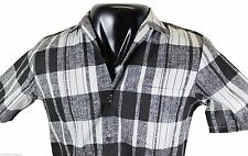VTG 80s TRIUMPH Of California CASUAL SHIRT Small Plaid Made In USA Deadstock NOS