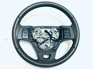 Ford Focus GREYSTONE Leather Steering Wheel 2008 2009 2010 2011 Cruise Radio