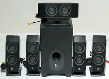 Logitech X-540 5.1 Wired PC Speakers System w/ Subwoofer & Control Pod