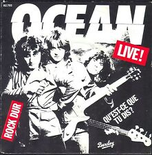 OCEAN FRENCH GROUP HARD ROCK LIVE! 45T SP 1980 BARCLAY 62.702 QUASI NEUF