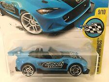 2015 MAZDA MX-5 MIATA - 2017 Hot Wheels #177 - Blue Eibach - HW Speed Graphics