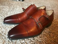 magnanni men Brown wing tip oxford dress shoes us size 11M