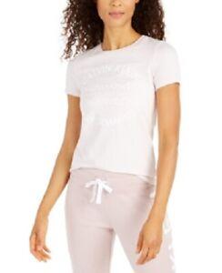 Calvin Klein Performance Women's Logo Activewear T-Shirt, Pink, Size S, NwT