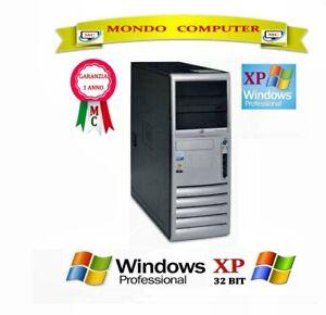 COMPUTER HP DC 7700 / INTEL PENTIUM D DUAL CORE 3,0GHZ / WINDOWS XP PRO -LICENZA