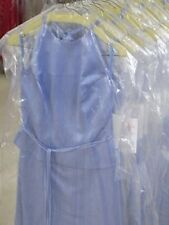 $15 Each Lot of 9 Periwinkle Formal Bridesmaid Dresses Wedding Choir Group #731