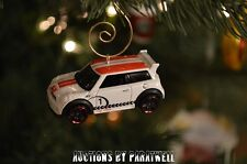 New Custom Mini Cooper S Challenge Christmas Ornament 1/64 Racing Morris Austin