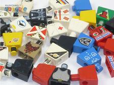 LEGO® 25 Torsos in verschiedenen Farben, ohne Arme und Köpfe, Figur Minifigur