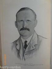 John Henry Taylor beldam Antiguo Edwardian Golf Foto artículo 1904 triumverate