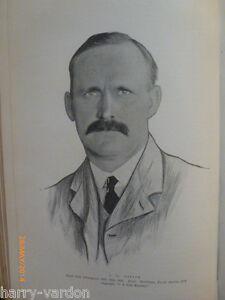 John Henry Taylor Beldam Antique Edwardian Golf Photo Article 1904 Triumverate