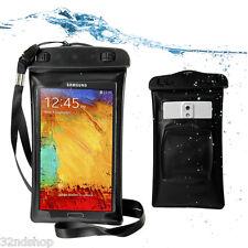 Impermeable Brazalete Bolsa Seco funda Para Samsung Galaxy Note 2 N7100 S3 S4
