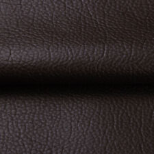 """54"""" Square Brown Faux Leather Pleather Upholstery Fabric Heavy Duty Vinyl Fabric"""
