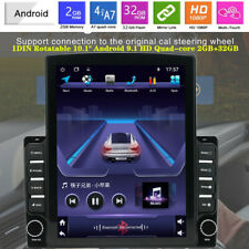 "1DIN Rotatable 10.1""Android 9.1 HD Quad-core 2+32GB Car Stereo Radio GPS Device"