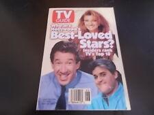 Jane Seymour, Tim Allen, Jay Leno - TV Guide Magazine 1994