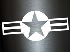 1 x 2 Plott Aufkleber Militär Gurt Stern Military US Army Sticker Star Tuning