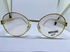 MOSCHINO by Persol M32 occhiali da vista oro vintage uomo man rare glasses gafas