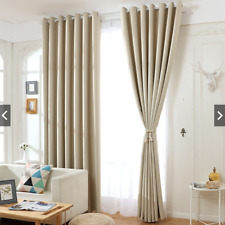 """2 Panels Grommet High Blackout Thermal Bedroom Window Curtain Drapes 63"""" 84""""L"""