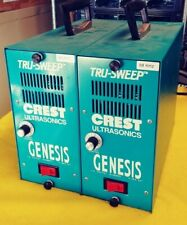Lot of 2 CREST Ultrasonics 6G-500-6 - Genesis True-Sweep Generator 120v Rev.2