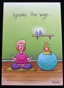 Oatmeal Studios Greeting Card Birthday Humor Funny Multi Color R384