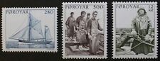Fishing industry stamps, 1984, Faroe Islands, SG ref: 100-102, 3 stamp set, MNH