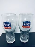 SAMUEL ADAMS BOSTON LAGER 🍺 For the Love of Beer 1984 - 2 - 16 ounces glasses
