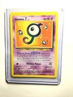 NM Pokemon UNOWN J Card BLACK STAR PROMO Set #38 Wizard of the Coast League WOTC
