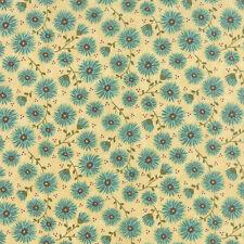 FABRIC Moda ~ PRINTS CHARMING ~ Sandy Gervais (17841 26) Cream -  by 1/2 yard