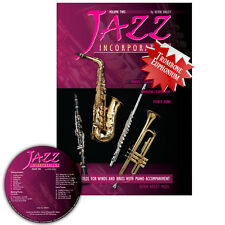 Jazz Incorporated Vol 2 for Trombone Euphonium Book CD Sheet Music Kerin Bailey