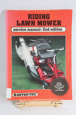 RIDING MOWER Service Manual 2nd Ed Deere Cub Cadet Murray Allis Chalmers Wards
