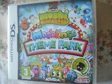 Moshi Monsters: Moshlings Theme Park (Nintendo DS, 2012) / BOOKLET
