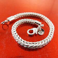 Bracelet Bangle Real 925 Sterling Silver S/F Solid Antique Cuff Design Fs3A807