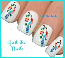 Nails Nail Art Water Transfers Decals Wraps Beautiful Bird Orchid Y121 Wedding