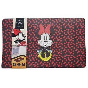 "Disney Anti Fatigue Kitchen Mat MINNIE MOUSE 18"" x 30"" Polka Dot Mickey Mouse"