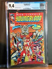 Youngblood #1 CGC 9.4 NM Flip Book 1st Image Title by Rob Liefeld