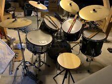 Schlagzeug Drumset Paiste Meinl Meteor Trommel