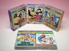 Used GAMEBOY MARIO 5games SET SUPER MARIO LAND 1 2 Dr. Picross 1 2 GB from Japan