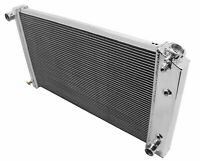 "POLISH 3 ROWS ALUMINUM RADIATOR 88 to 95 CHEVY 3500//K1500//2500 22/"" STAMPED TANK"
