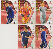 Panini Adrenalyn XL World Cup Russia 2018 Lot 5 cartes équipe JAPON