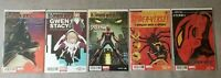 Edge of Spider-Verse 1,2,3,4 & 5 - High Grade SET - MEXICO EDITIONS