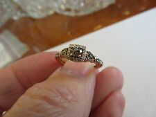 LeVian 14K STRAWBERRY GOLD 1/2 CT CHOCOLATE DIAMOND ENGAGEMENT RING RET $1899